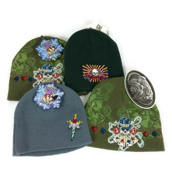 2b78035bd21 Lot Of Men s Pug Wear Winter Hat Beanies